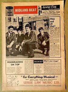 1965 MIDLAND BEAT No. 26 ~ 2nd City Sounds, 'N Betweens, D'fenders, etc