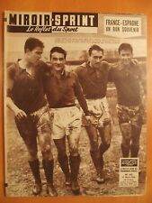 Miroir Sprint N° 615 du 17/3/1958-France-Espagne un bon souvenir-Basket,Italie