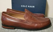 Cole Haan Grand Pinch Friday Contemporary Penny Loafer Brown Men's Size 11 New