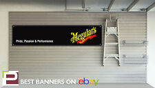 Meguiars Car Care Workshop Garage Banner