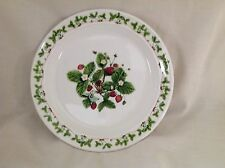 "PORTMEIRON ANGHARAD REES SUMMER STRAWBERRIES 8.5"" PLATE VERY GOOD"