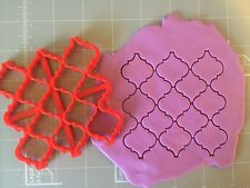 Moroccan pattern stamp, embosser, cookie cutter