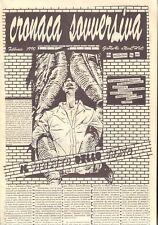 Cronaca sovversiva-Giornale anarchico-Dissidenze-Contestazione