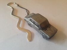 Datsun 1200 2 Door Saloon  ref57  FULL CAR on a CURVED bookmark with cord