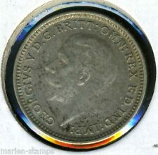 GREAT BRITAIN THREE PENCE 1932 KING GEORGE V HIGH GRADE COIN AS SHOWN