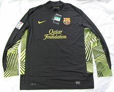 Barca Nike FC Barcelona Portero Camisa Jersey es 2011-2012 Hombre Talla XL