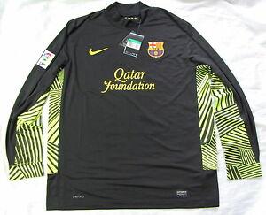 Barca Nike FC Barcelona Goalkeeper Shirt jersey Blaugrana 2011-2012  men SIZE XL
