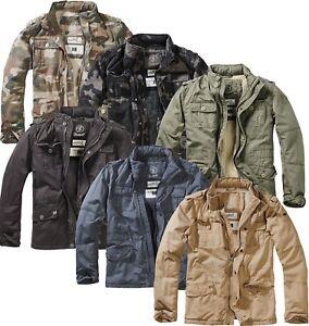 Brandit Winterjacke Britannia Jacke Winter Jacket gefüttert M65 Feldjacke Parka