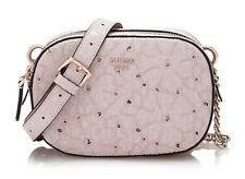 GUESS JAYNE Mini Crossbody Top Zip Rosa, Damentasche Umhängetasche Handbag