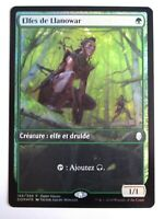 Elfes de Llanowar Foil/Llanowar Elves full art    MTG Magic Francais