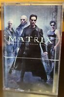 THE MATRIX: Music from the Motion Picture Soundtrack Cassette Tape -FREE SHIP-