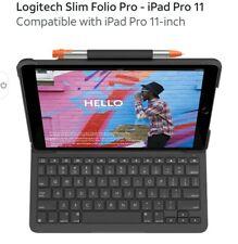 Logitech Slim Folio IPad Pro 11 inch - Black
