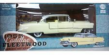 1955 Cadillac Fleetwood Series 60 Die-cast Car 1:18 Greenlight 10 inches Yellow