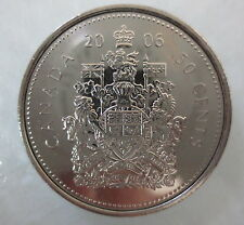2006 P CANADA 50¢ HALF DOLLAR COIN UNCIRCULATED FROM MINT ROLL