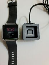 Fitbit Blaze FB502 Fitness Watch Smartwatch Activity Tracker LARGE with charger