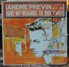 Andre Previn & His Trio - Give My Regards to Broadway