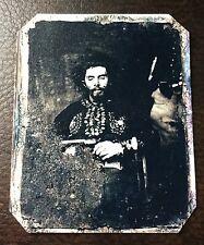 Bloody Bill Anderson Quantrill's Raiders Military Civil War TinType C200RP
