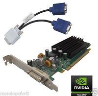 SCHEDA GRAFICA PCI EXPRESS 256 Mb NVIDIA QUADRO NVS 290-256MB+VGA Splitter Cable