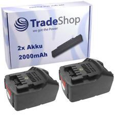 2x Akku Li-Ion 36V 2000mAh ersetzt Metabo 6.25453 6.00795.00 6.00795.68 6.02177.