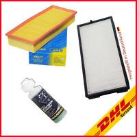 Filterset Pollenfilter u. Luftfilter BMW E34 E32 530 535 i 730 735 i,iL+Geschenk