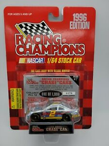 UNOPENED RC Chrome Chase Car 1:64 Rusty Wallace #2 Ford Penske Racing #0379/1996