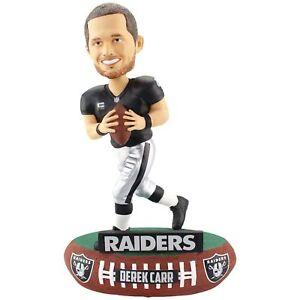 Derek Carr Oakland Raiders Baller Special Edition Bobblehead NFL