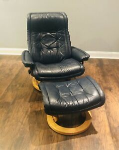 Ekornes Stressless Leather Reclining Chair Large Sized