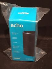Amazon Echo (2nd Generation) Smart Assistant Charcoal Fabric Voice Control Home