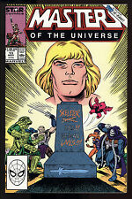 Masters of the Universe (1986) #13 First Printing Death of Skeletor Low Print NM
