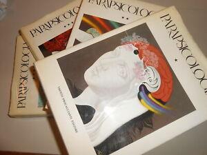 LIBRO: PARAPSICOLOGIA - TRENTO PROCACCIANTI ED. - 4 VOL. 1979
