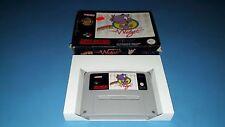 Jeu Super Nintendo SNES Super Widget en boite sans notice