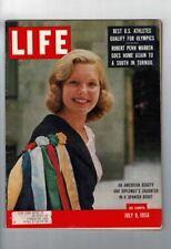 VINTAGE JULY 9 1956 LIFE MAGAZINE BEATRICE LODGE DIPLOMAT'S DAUGHTER #L1037