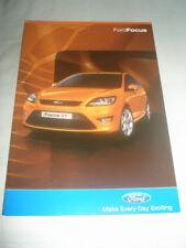 Ford Focus range brochure Apr 2009 South African market