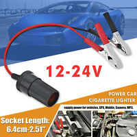12V Auxiliary Socket Cigarette Lighter Adapter + Crocodile Leisure Battery