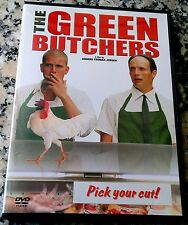 GREEN BUTCHERS RARE DVD Danish Kruse Kaas Jensen like Delicatessen Eating Raoul