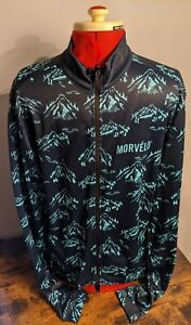 Morvelo Long Sleeve Thermoactive Cycling Jersey - XL Male Mountain Pattern