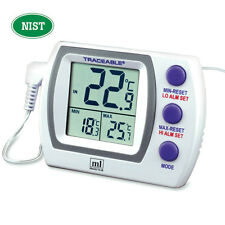 Hi-Lo Plus Thermometer With External 5mL Vaccine Bottle 1 ea