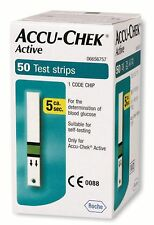 Accu Chek Active 50 Test Strips - Blood glucose Testing