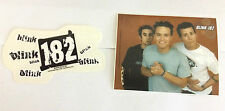 BLINK 182 2-Pack of Stickers Logos/Classic Old Photo NEW OFFICIAL MERCHANDISE