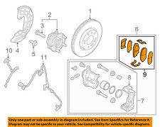 HYUNDAI OEM 15-16 Sonata Brake-Front Pads 58101C2A10