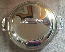 All Clad casserole Sauteuse Saute Pia or fry pan in new condition
