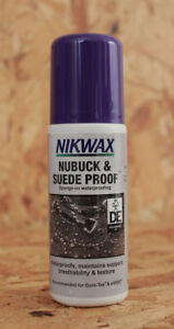 Nikwax Nubuck & Suede Proof waterproofing Spray On 125ml