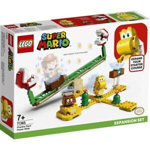 LEGO 71365 Super Mario Piranha Plant Power Slide Expansion Set . New!