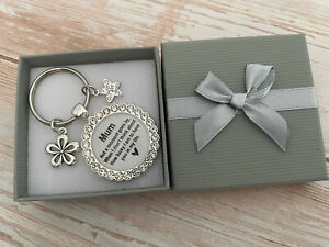 Mothers day Gifts Keyring  / Gift for Mum Mummy Mother - Birthday Gift
