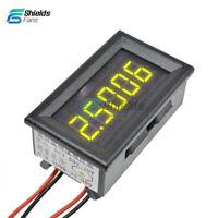 Yellow Digital LED 5 Digit DC 0-4.3000-33.000V Voltmeter Voltage Meter Car Panel