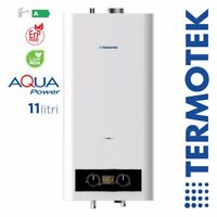 TERMOTEK AQUAPOWER C11A OPEN CHAMBER GAS WATER HEATER 11 LITRES FUELED BY METHAN