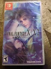 Final Fantasy X|X-2 HD Remaster (Nintendo Switch, 2019) - New Sealed