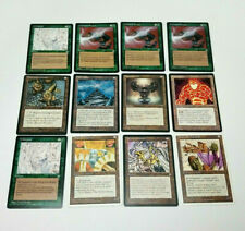 Magic The Gathering 1994-1995 Lot Of 12 Cards