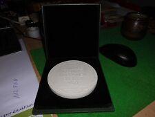 Meissen Porzellan Medaille Görlitz 10,5cm 100 Jahre Keramik Maschinen Görlitz 19
