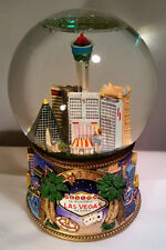 "San Francisco Music Box Co. ""The Gambler"" Las Vegas Water Globe - original box"